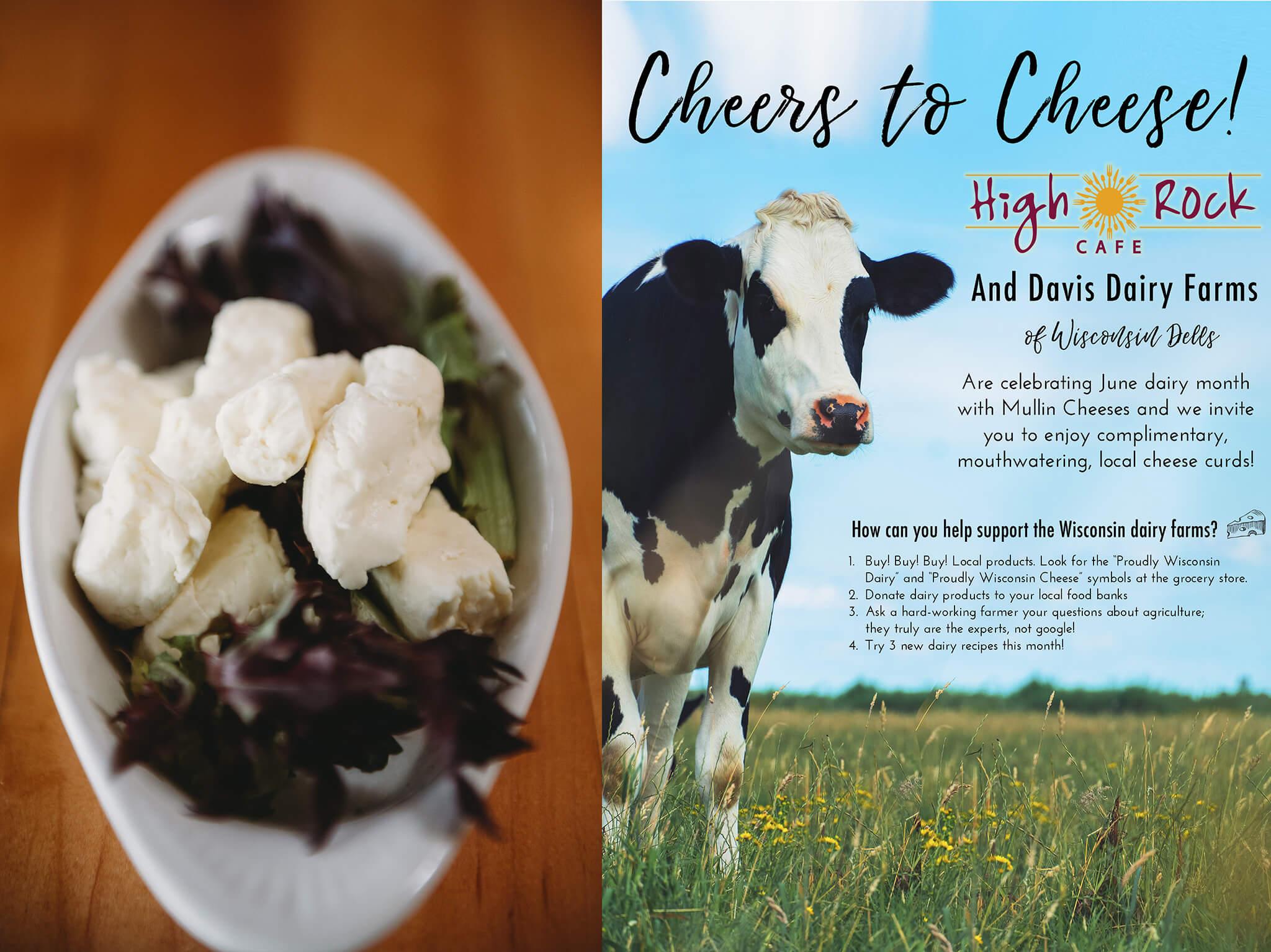 Celebrating June Dairy Month at High Rock Cafe! - High Rock Cafe